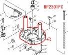 RP1801,RP2301FC用 ベースコンプリート
