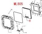 ML805用 レンズ