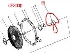 CF300D用 ファンブレード