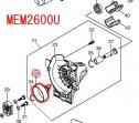 クラッチドラム MEM2300L/U/W,MEM2600L/U/W等対応