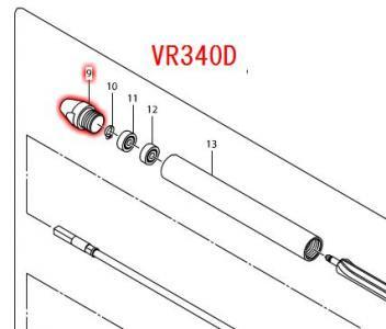 キャップ VR340D,VR440D等対応