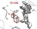 スイッチTG573FSB-12 TD138D,TD149D用
