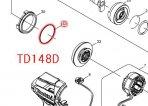 Oリング40 TD138,TD148,TD170等対応