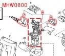 MHW0800用ポンプアッセンブリ