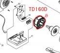 TD160D,TD161D用ステータ