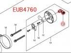 チョークレバー EUB4760,FLH7500用