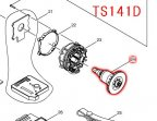 ローター TS131D,TS141D対応