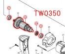 TW0350/TW0350SP用 アーマチュア100-115V