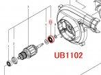 ボールベアリング609DDW UB1102,UB1103用