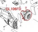 モーターアッセンブリ CL106FD用