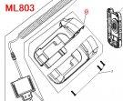 ML803用 ボディアッセンブリ  GM00001307
