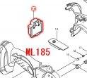 ML185,UB182D,UB183D用 バッテリホルダ