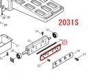 2031S/SC,2030S/SC用 セットプレート155