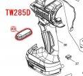 スイッチプレートコンプリート TW284D,TW285D用