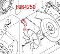 スロットルレバー EUB4250,EUB4250SP用  現行型