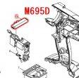 正逆転切替レバー M694D,M695D,M698D等対応