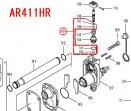 ダスタ補修用Oリングセット品 AR320HR,AR411HR対応