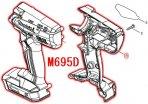 M695D用 ハウジングセット品