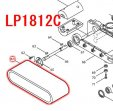オートリターン超仕上カンナLP1812C,LP1812CSP用 平ベルト150-893