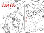 六角穴付ボルトM6×20 ファン180取付用 EUB4250/SP用