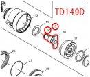 スチールボール3.5  TD138D等対応