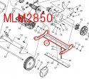 MLM2850用アジャストプレート