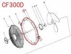 CF300D用 フロントフレーム