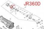 ドライビングスリーブ JR187D,JR360D等用