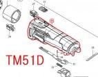 TM41D/TM51D用モーターハウジング