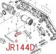 ロックオフボタン JR104D,JR144D,JR184D用