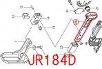 JR104D,JR144D,JR184D用 スライダN