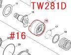 ハンマー TW281D,TW285D等用