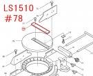 LS1510用 刃口板
