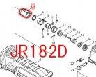 プロテクタ 現行型 JR182D,JR3050T,JR3070CT用