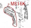 M816K用 モーターハウジング