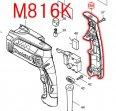 M816K用 ハンドルカバー