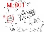ローテーター(左) ML801用