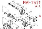リョービ PM1511用 インナーケース組み立て