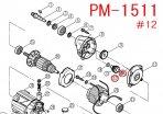 リョービ PM1511用 スラストワッシャ8.1×12×0.5