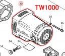 モーターハウジングコンプリート TW1000用