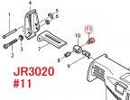 六角穴付ボルト5×15  JR3020 ブレードクランプ用