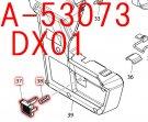 プッシュボタン DX01(A-53073,A-61525),DX03(A-67125)用