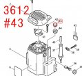 ツマミナットM10 3612/C対応