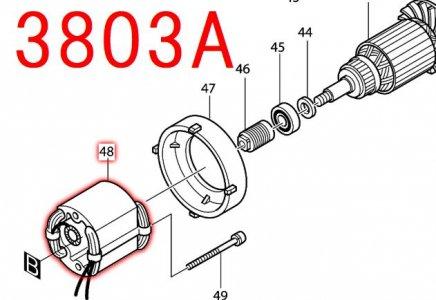 フィールド100V 3803A/SP, 3804A用