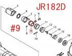 ガイドスリーブ JR182D,JR186D,JR187D等用