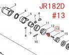 プッシュプレート JR182D,JR186D,JR187D等用
