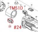 TM41D/TM51D用ブラシホルダ 632B88-0