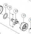HiKOKI(日立工機) WH18DDL2用 アンビル