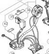 HiKOKI(日立工機)WH18DDL2用  DCスピードコントロールスイッチ