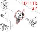 TD111D用 ステータ